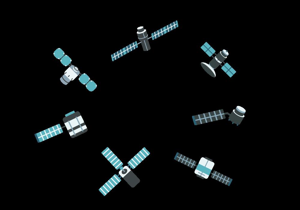infografia satelits sentinels